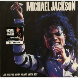 MICHAEL JACKSON - Let me fill your heart with joy LP