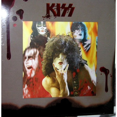 KISS - Blood & Fire LP