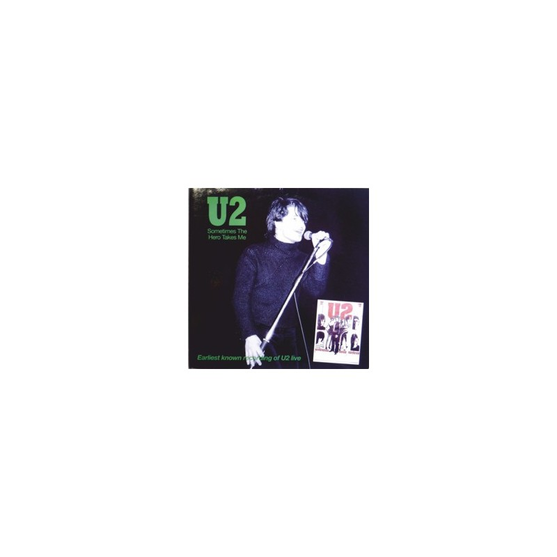 U2 – Sometimes The Hero Takes Me, Live Cork 1979 LP