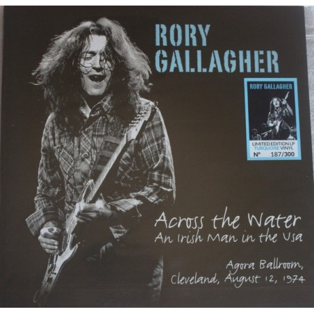 RORY GALLAGHER - Across The Water - An Irish Man In The USA 1974 LP