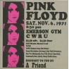PINK FLOYD - Emerson Gym C W R U CD