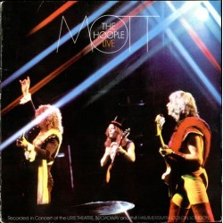 MOTT THE HOOPLE - Live LP