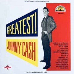 JOHNNY CASH ‎– Greatest  LP