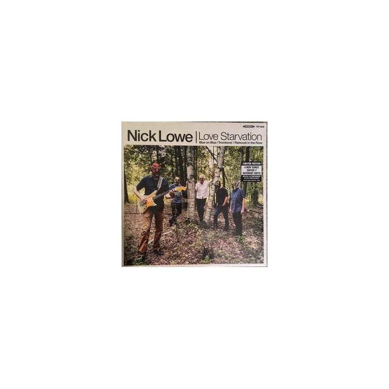 "NICK LOWE - Love Starvation 12"""