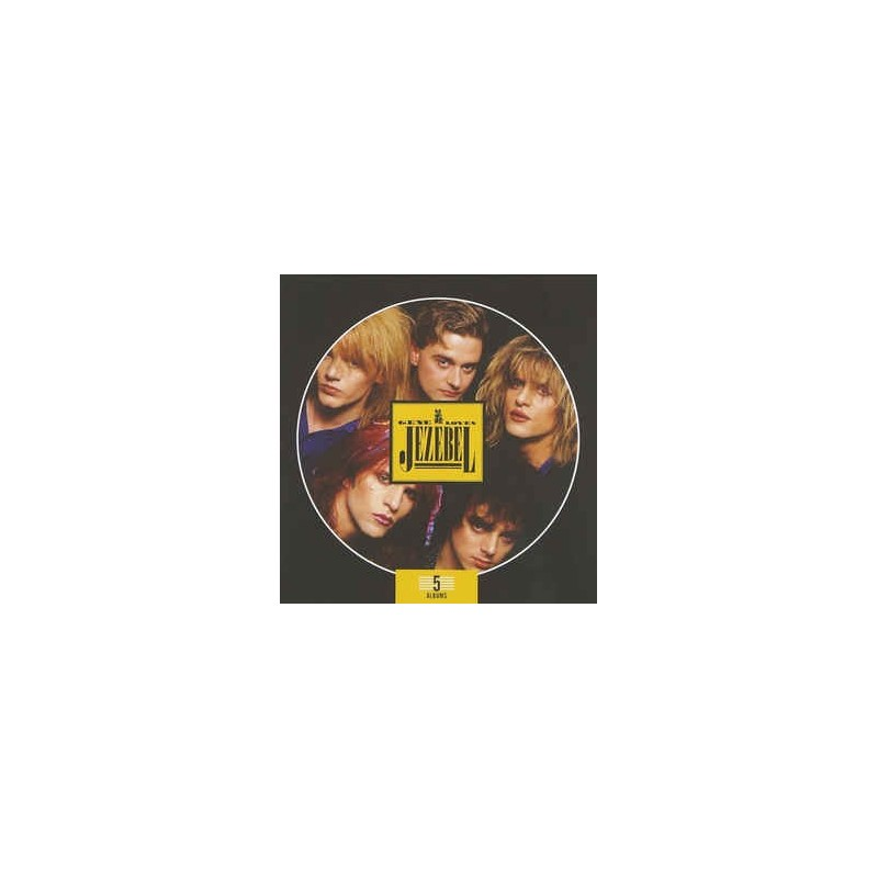 GENE LOVES JEZEBEL - 5 Albums Box Set