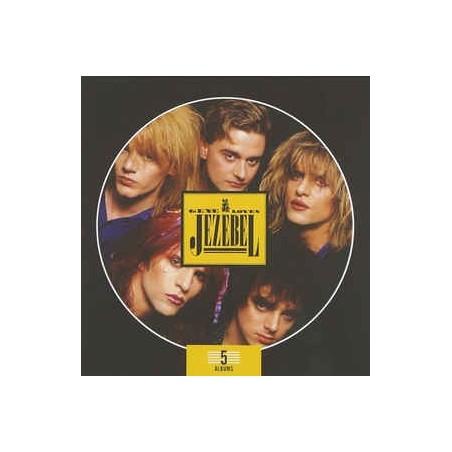 GENE LOVES JEZEBEL - 5 Albums Box Set CD