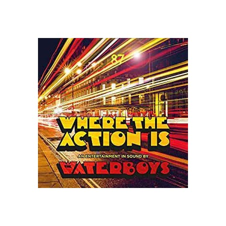 WATERBOYS - Where The Action Is LP