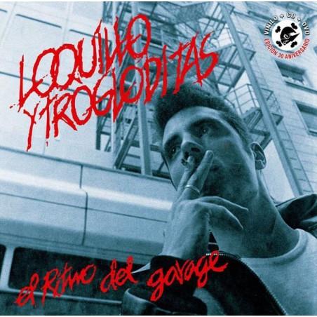 LOQUILLO Y TROGLODITAS - El Ritmo Del Garage LP+CD+DVD