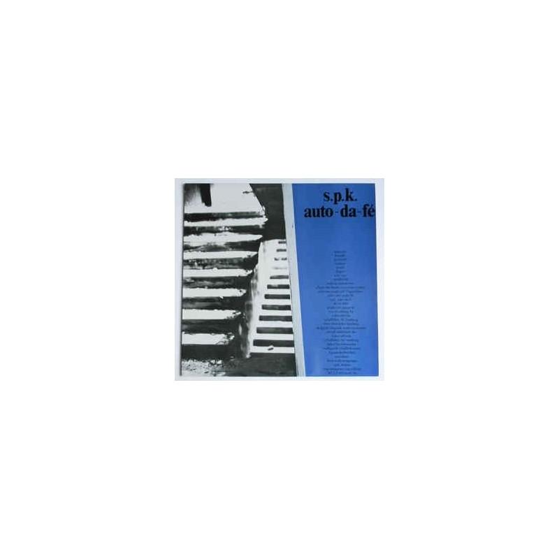 S.P.K. - Auto-Da-Fe LP