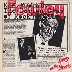 KIM FOWLEY ‎– Living In The Streets LP