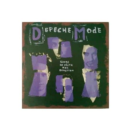 DEPECHE MODE - Songs Of Faith And Devotion LP