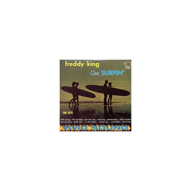 FREDDIE KING - Freddy King Goes Surfin' LP