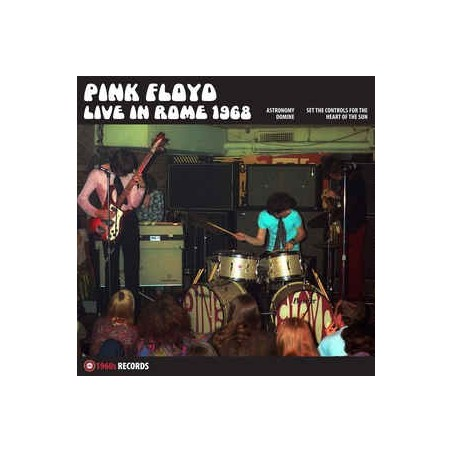 PINK FLOYD - Live In Rome 1968  LP