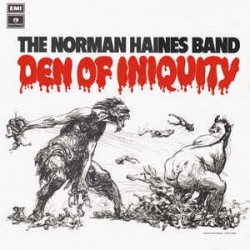 NORMAN HAINES BAND - Den Of Iniquity  LP
