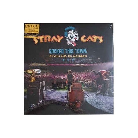 STRAY CATS - Rocked This Town: From LA To London LP