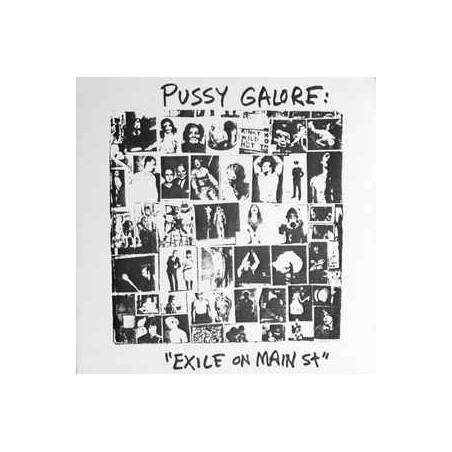PUSSY GALORE - Exile On Main St LP