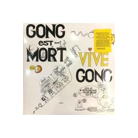 GONG - Gong Est Mort, Vive Gong LP