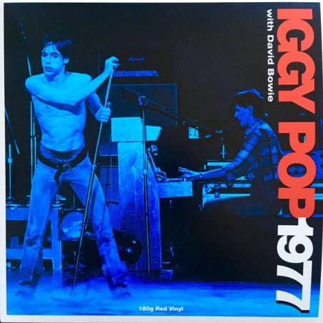 IGGY POP WITH DAVID BOWIE - 1977 LP