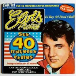 ELVIS PRESLEY - Sus 40 Mayores Éxitos LP
