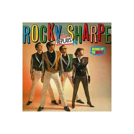 ROCKY SHARPE & THE REPLAYS - Rock It To Mars LP (Original)