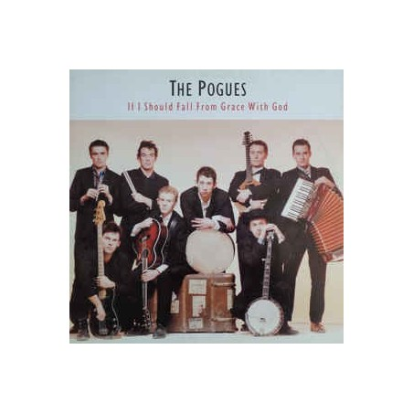 THE POGUES - If I Should Fall From Grace With God LP (Original)