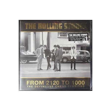 ROLLING STONES - From 2120 To 1000 (The Definitive Chess Sessions) LP