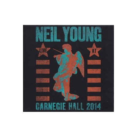 NEIL YOUNG - Carnegie Hall 2014 CD