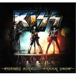 KISS - Buenos Aires Freak Show CD