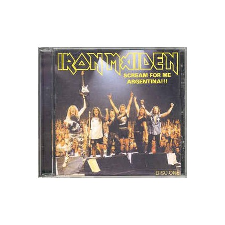 IRON MAIDEN - Scream For Me Argentina, Disc One CD