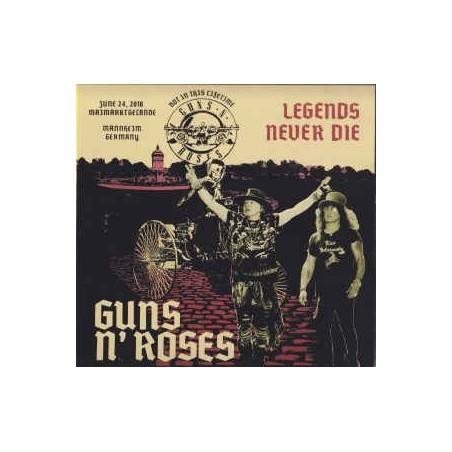 GUNS N' ROSES - Legends Never Die CD