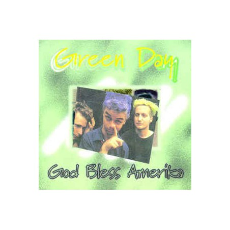 GREEN DAY - God Bless Amerika CD