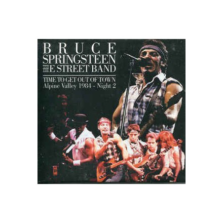 BRUCE SPRINGSTEEN & THE E ST. BAND - Time To Get Out Of Town CD