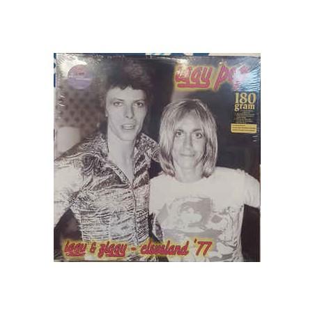 IGGY POP & DAVID BOWIE - Iggy & Ziggy Cleveland '77 LP