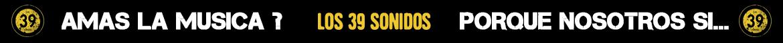 Programa de rádio Los 39 sonidos